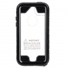 SK-109 Protective Waterproof PC + PVC + Silicone Case for IPHONE 5 / 5S / 5C - Black + Transparent