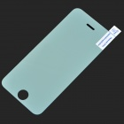Silver Electroplated Tempered Glass Screen Guard Protector for IPHONE 5 / 5S / 5C - Transparent