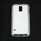 Remax Protective Soft TPU Back Case + Screen Protector for Samsung Galaxy S5 - Translucent White