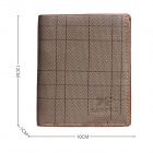 SAVFOX SF013 Men's Short Wallet - Light Brown