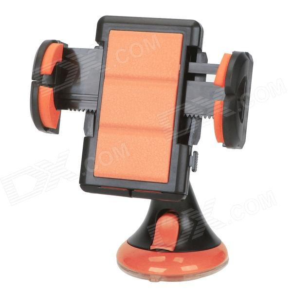 JHD-12HD36 Universal Car Holder Mount for Cellphone - Black + Orange concept car universal windshield mount holder for iphone samsung cellphone black