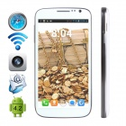 "CUBOT P9 Dual-Core Android 4.2.2 WCDMA Bar Phone w/ 5"" IPS, GPS, Wi-Fi and Dual-SIM - White"