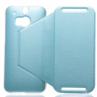 KALAIDENG Protective PU Leather Case for HTC One 2 (M8) - Blue