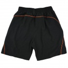 ARSUXEO AR008 été rapide-sec Sports de plein air Court - Noir + Orange (taille L)