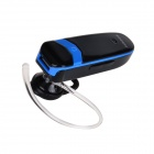 Jabees V3.0 3-in-1 Bluetooth Receiver / Stereo Headset w/ Microphone - Black + Blue