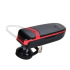Jabees V3.0 3-in-1 Bluetooth Receiver / Stereo Headset w/ Microphone - Black + Red