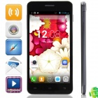 "KVD X3 MTK6582 Quad-Core Android 4.2.2 WCDMA Bar Phone w/ 5.0"" IPS, W-Fi, GPS, 1GB RAM and 4GB ROM"