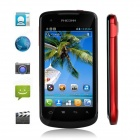 "PHICOMM FWS710 Android 4.0 WCDMA Bar Phone w/ 3.7"" Capacitive Screen, Wi-Fi and Dual-Camera"