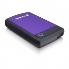 Transcend StoreJet 25H3 1 TB USB 3.0 External Hard Drive Purple
