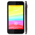 "K2 Android 4.2 Dual-core WCDMA Bar Phone w/ 4.4"" Screen, Bluetooth, GPS and Wi-Fi - Black + Gold"