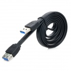 INFORMYI YFY-0010B USB 3.0 Male to Female Extending Cable - Black (1m)
