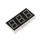 "5361AS 1.7"" 3bit Common Anode Red LED Digital 7-Segment Display - Black + White (5PCS)"