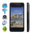 "CUBOT GT90 Dual-Core Android 4.2 WCDMA Bar Phone w/ 4.0"", Wi-Fi, GPS and Dual-SIM - Black"