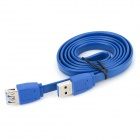 INFORMYI YFY-0011B USB 3.0 Male to Female Extending Cable - Light Blue (1m)