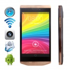 "CUBOT C6W Dual-core Android 4.2.2 WCDMA Bar Phone w/ 4.3"" IPS, Wi-Fi, GPS and Dual-SIM - Golden"
