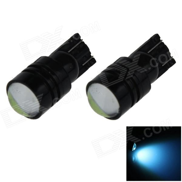 T10 / 194 / W5W 3W 200lm 1-COB LED Ice Blue Car Side Light / Clearance / Indicator Lamp (12V)