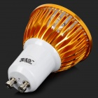 JRLED GU10 4W 330lm 6300K 4-LED Branco Dimmer Spotlight - Golden + Branco (AC 220V)