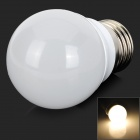 E27 3W 100lm 3000K 4-5630 SMD LED Warm White Light Bulb - White (AC 220~240V)