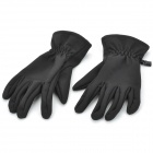 MOSS Outdoor Sports Tactical Warm Gloves - Black (Pair)