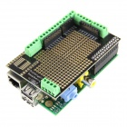 Raspberry Pi Mode B Project Board + Raspberry PI Expansion Prototyping Board Kit - Green
