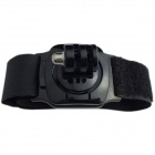 TOZ TZ-GP155 Sport Camera Wristband Mount w/ 360 Degree Rotation for GoPro Hero 2 / 3 / 3+ - Black