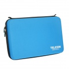 Telesin Super Large Protective EVA Camera Storage Bag for Gopro Hero 4/ 3+ / Hero 3 / Hero 2 - Blue