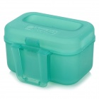 ABS Plastic Fish Bait Box - Light Blue