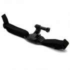 HGYBEST Helmet Strap Mount w/ Quick Assemble Plug for GoPro Hero / 2 / 3 / 3+ - Black