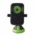 JHD-12HD68 Universal 360 Degree Rotatable Car Mount Holder for Cellphone - Black + Green