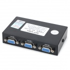 Bidirectional VGA Switcher - Black + White (2-In / 1-Out)