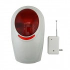 Waterproof Wireless Siren with Strobe Light for Wireless GSM Auto Security Alarm System