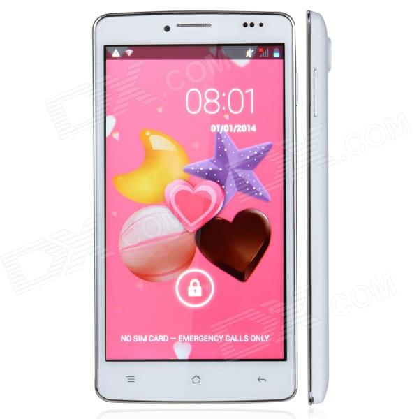 "Mpie MP707 Android 4.3 Quad-core WCDMA Bar Phone w/ 5.0"" Screen, Hand Gestures Function and Wi-Fi"