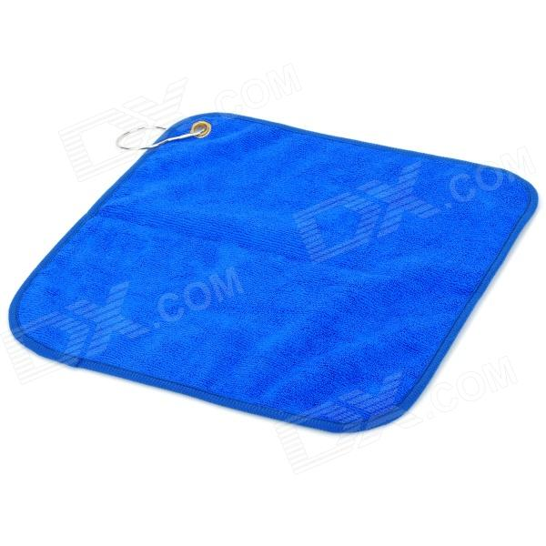 Soft Microfiber Non-stick Bait Fishing Quick-drying Towel - Blue - DXFishing Gear<br>Soft and strong water absorption; Convenient to carry<br>