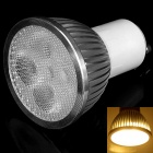 GU10 8W 400lm 3000K 4-LED Warm White Light Spotlight (AC 85~265V)