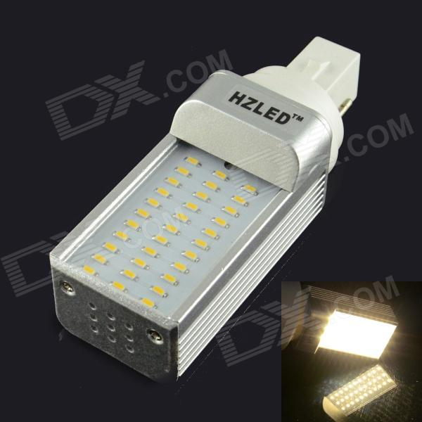 HZLED G24 4W 300LM 3000K 33-SMD 3014 LED Warm White Light Bulb (AC 85~265V)