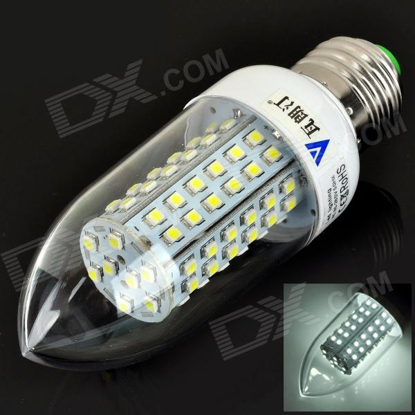 e27-55w-480lm-6500k-80-smd-3528-led-white-light-candle-bulb-ac-85265v