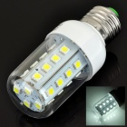 E27 5W 430lm 28-SMD 5050 LED Col White Light Corn Bulb (85~265V)