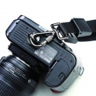 "1/4"" Quick-Strap Link Button for Camera Shoulder Strap - Black +Silver"