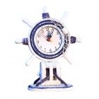 Mediterranean Style Decoration Resin Desk Clock (1 x AA)