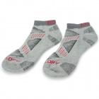 NUCKILY PF01 Men's Comfortable Cotton Sports Socks - Grey (Pair)