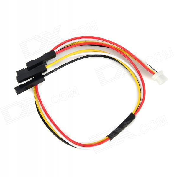 APM 2.5/2.6 GPS Adapter Cable - Black + White + Red + Yellow (22cm)