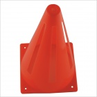 Traffic Safety Soccer Plastic Sport Warning Cones - Red (4 PCS)