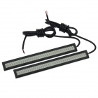 Waterproof 12W 250lm 64-SMD 5630 LED White Car License Plate / Daytime Running Light (12V / 2PCS)