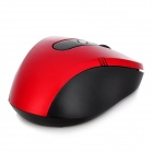 Promi MF-340 2.4GHz USB 2.0 Wireless Optical LED Mouse - Black + Red (2 x AAA)