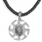 Cool Punk Style Necklace - Black