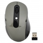 Promi MF-340 USB 2.0 2.4GHz Wireless Optical Mouse - Black + Grey (2 x AAA)