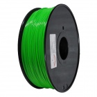 ABS-FLUO-GN-1.75-1.0 3D Printer Dedicated 1.75mm Filament ABS Print Cable - Fluorescent Green (400m)