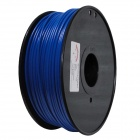 ABS-FLUO-BU-3.0-1.0 Fluorescent Series 3mm ABS Filament 3D Printing Cable - Blue (150m)
