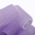 Magic Nylon Manual Hair Curlers Rollers - Light Purple (6 PCS)