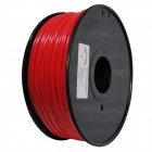 ABS-FLUO-R-3.0-1.0 Fluorescent Series 3mm ABS Filament 3D Printing Cable - Red (150m)